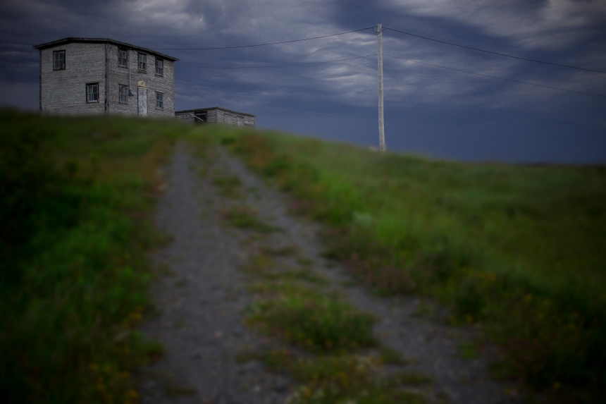 Abandoned Nfld House_blur